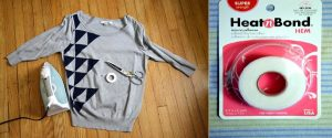 things you will need for convert old sweater into dress